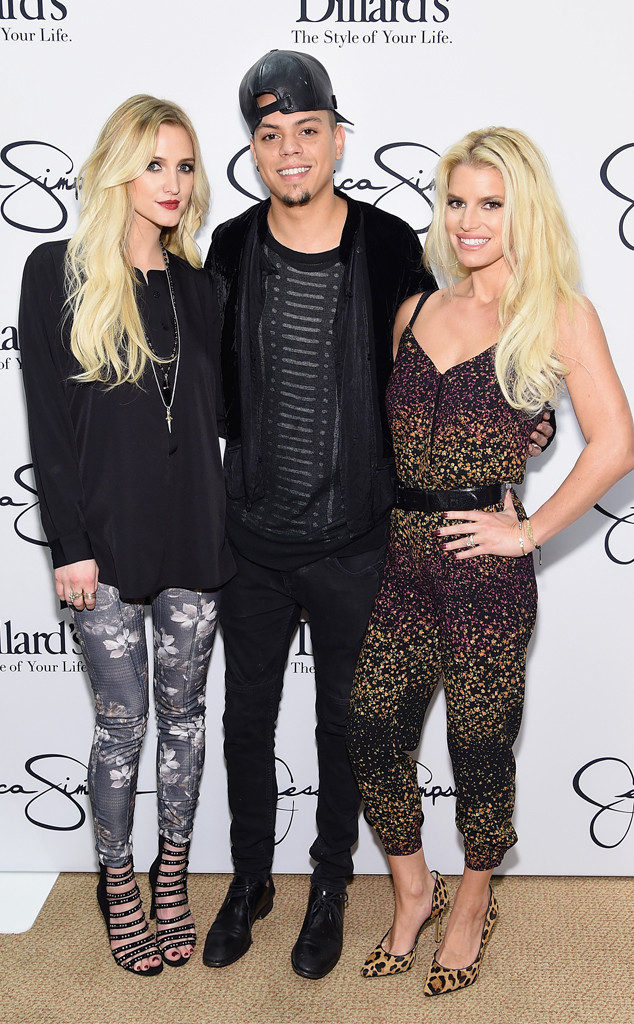 Ashlee Simpson, Evan Ross, Jessica Simpson