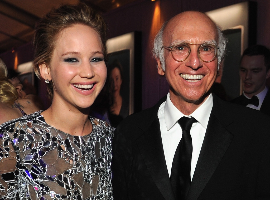 Jennifer Lawrence, Larry David