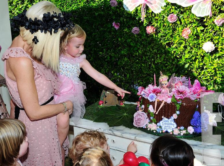 Tori Spelling, Hattie McDermott, Hattie Birthday