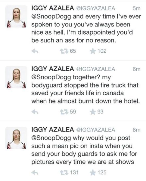 Iggy Azalea, Twitter