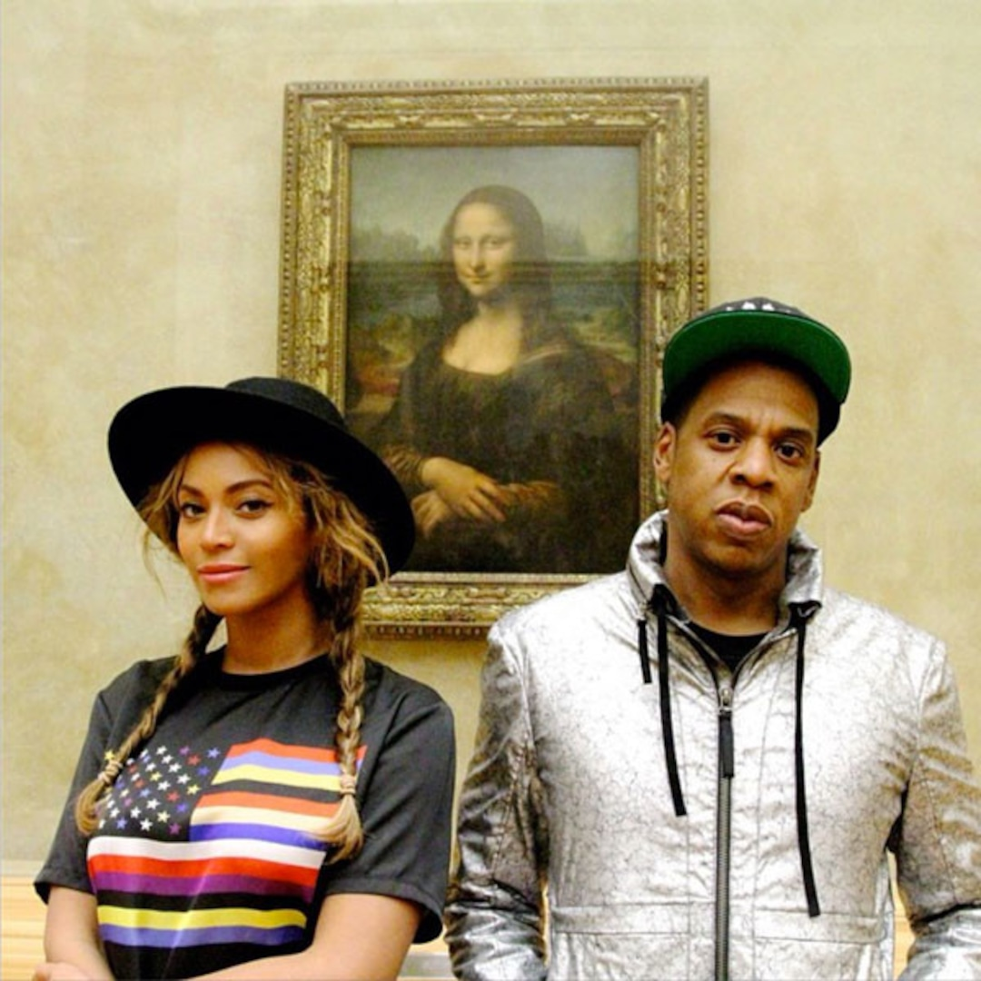 Internet Responds To Bey Jay S Mona Lisa Pic With New Memes E Online