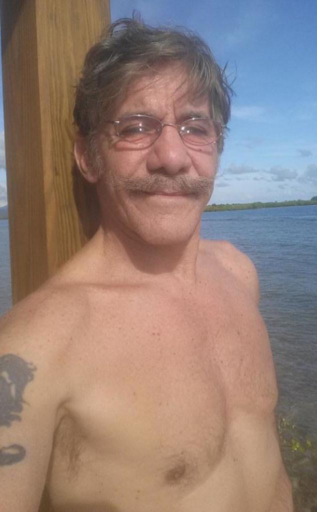 Geraldo Rivera, Shirtless, Twitter
