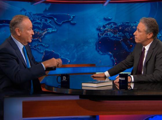Bill O'Reilly, Jon Stewart