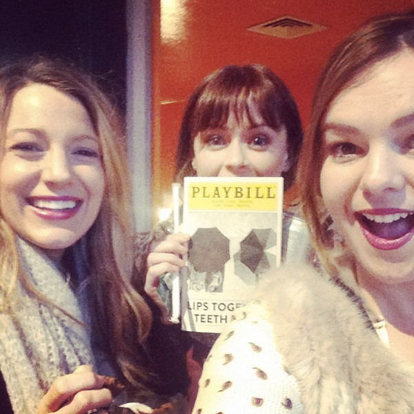 Blake Lively, Amber Rose Tamblyn, Instagram
