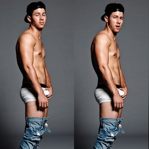 Nick Jonas Grabbing His Penis