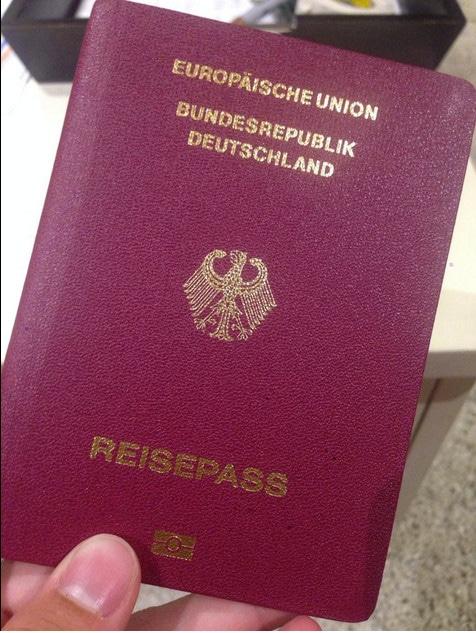 alemania, pasaporte