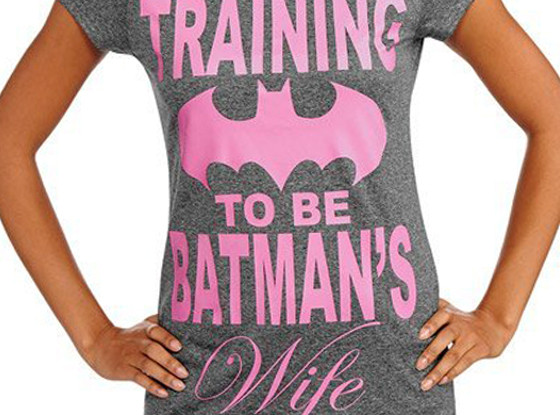 Training To Be Batman's Wife T