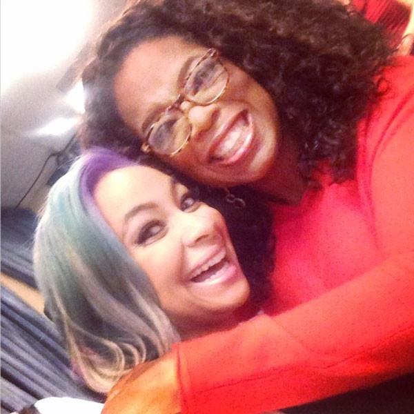 Oprah Winfrey, Raven Symone