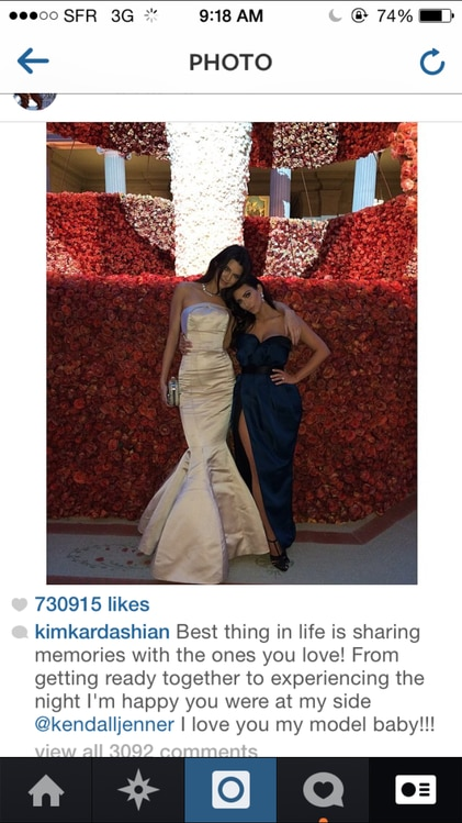 Sister Moment From Kim Kardashian Picks And Captions Her Favorite