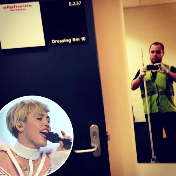 Miley Cyrus, Anthony Skinner