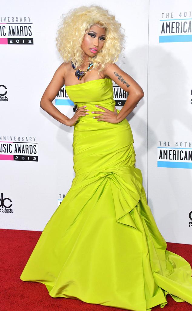 ESC: Nicki Minaj, AMAs, Oscar de la Renta
