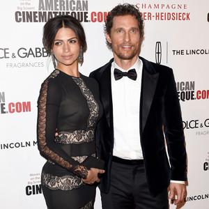 Camila Alves McConaughey, Matthew McConaughey
