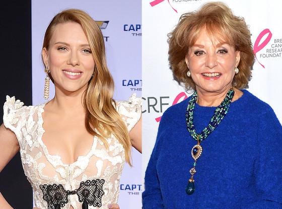 Barbara Walters, Scarlett Johansson