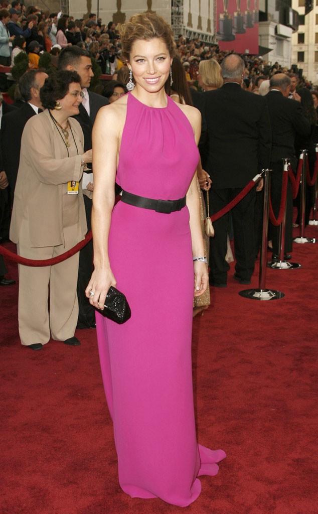 Jessica Biel, Oscars 2007, Oscar De La Renta