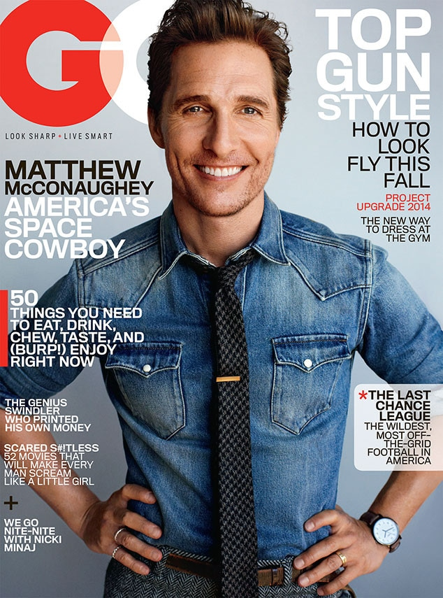 Matthew McConaughey, GQ