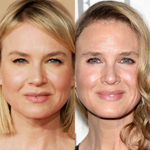 Renee Zellweger, Then and Now
