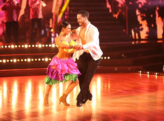 Is val on dwts hookup his partner