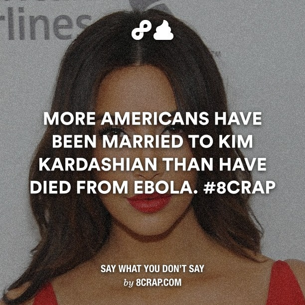 Kim Kardashian, Ebola