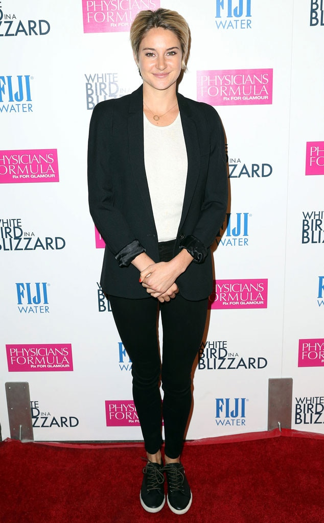 Well Suited -  In a black blazer and skinny jeans