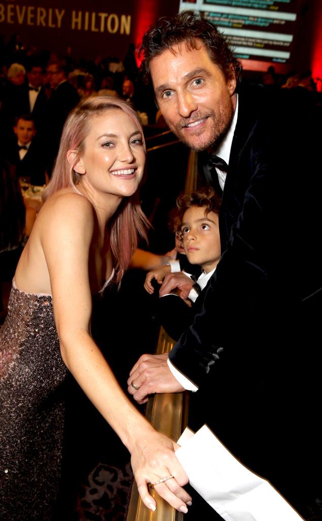 Kate Hudson, Levi Alves McConaughey, Matthew McConaughey