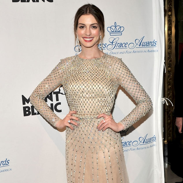 Nude Number From Anne Hathaways Best Looks-6693
