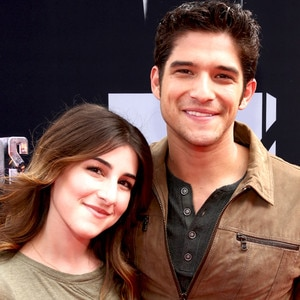 How long have seana gorlick and tyler posey been dating for a month