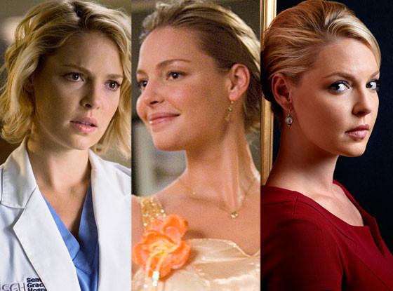 Katherine Heigl, Grey's Anatomy, 27 Dresses, State of Affairs