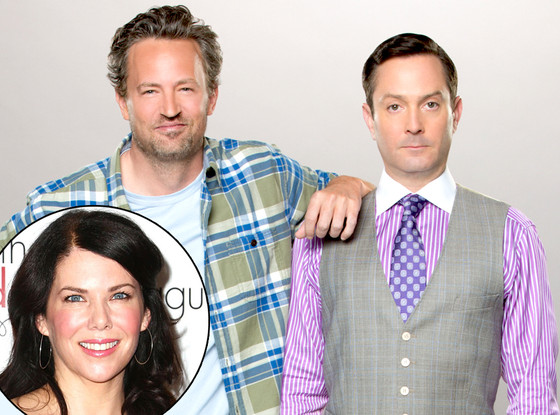 Matthew Perry, Thomas Lennon, Lauren Graham