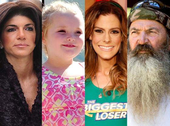 Teresa Giudice, Phil Robertson, Rachel Frederickson, Alana Thompson, Reality TV