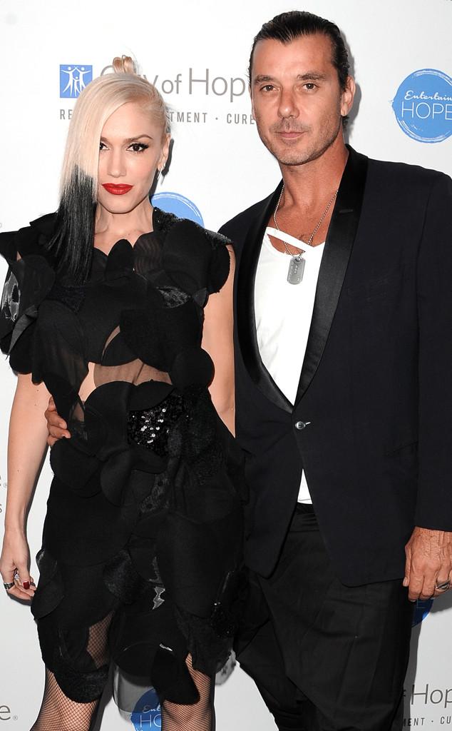 Gwen Stefani, Gavin Rossdale, 2014