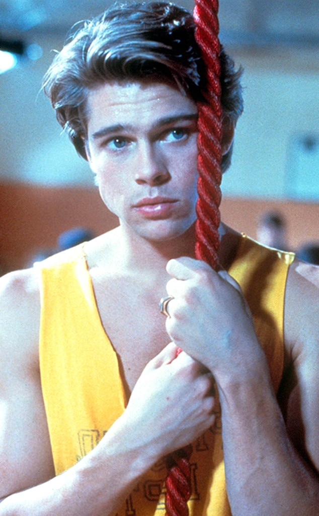 Brad Pitt in Cutting Class (1989) from Celebs Who Got Their