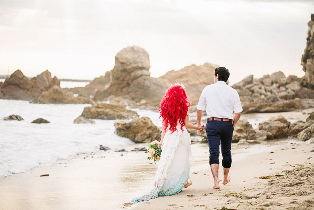 This Little Mermaid Themed Wedding Is Too Adorable E Online