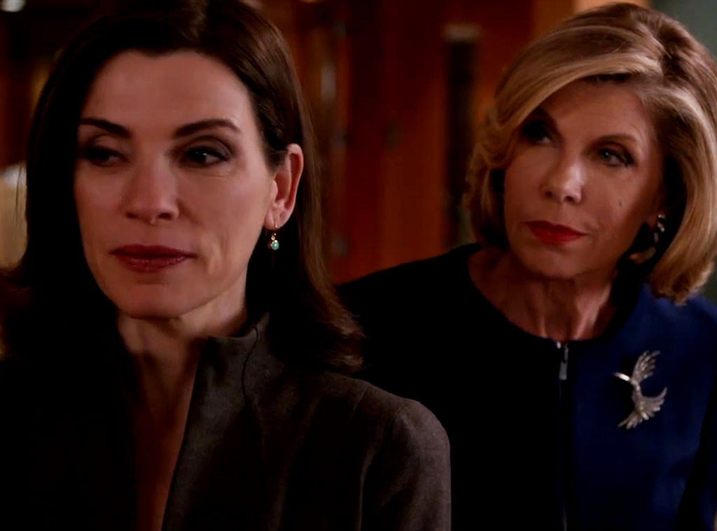 Julianna Margulies, Christine Baranski, The Good Wife