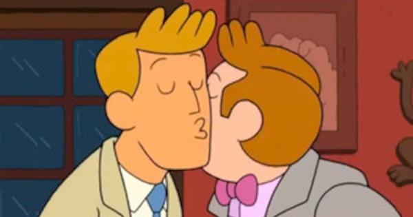 from Armani cartoon network gay