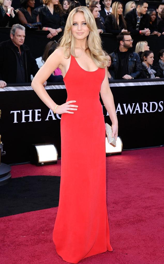 Jennifer Lawrence, First Academy Awards, 2011 Oscars