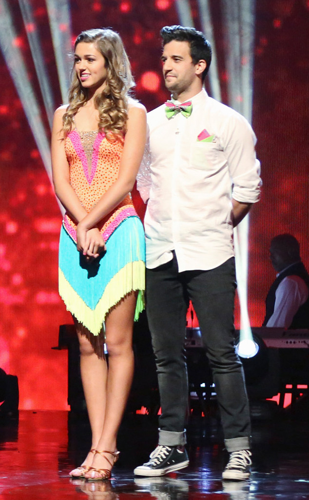 Sadie Robertson, Mark Ballas, Dancing with the Stars, DWTS