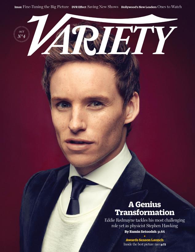 Eddie Redmayne, Variety Magazine