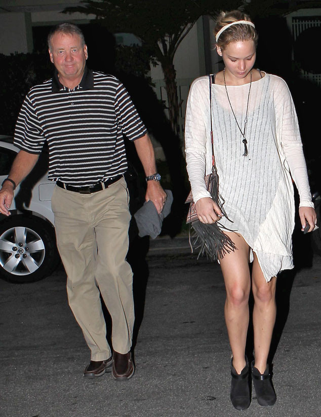 Jennifer Lawrence, Dad, Gary Lawrence