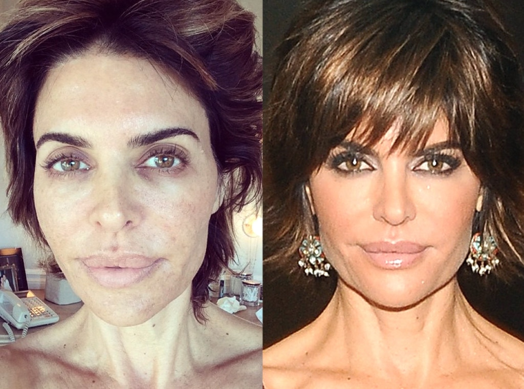 Lisa Rinna from Stars Without Makeup | E! News