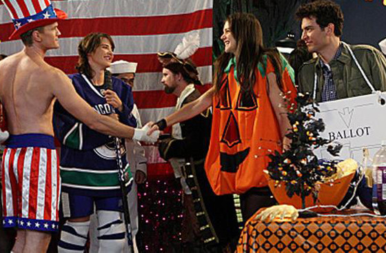 Best Halloween costumes on TV, How I Met Your Mother