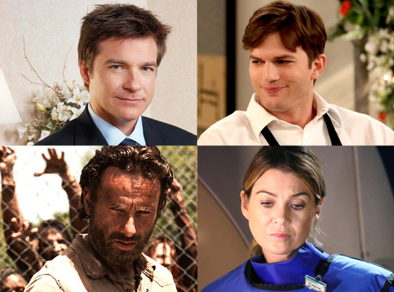The Walking Dead, Grey's Anatomy, Two and a Half Men, Arrested Development