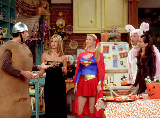 Best Halloween costumes on TV, Friends