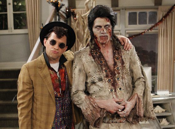 Best Halloween costumes on TV, Two and a Half Men