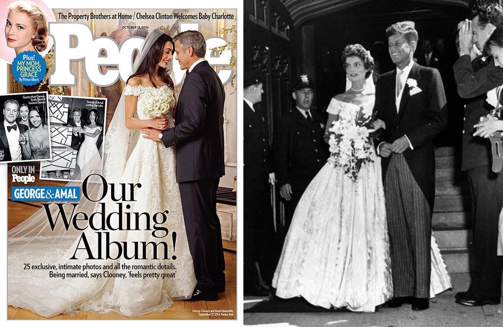Blushing Brides from Amal Clooney\'s Jackie O Style | E! News Australia
