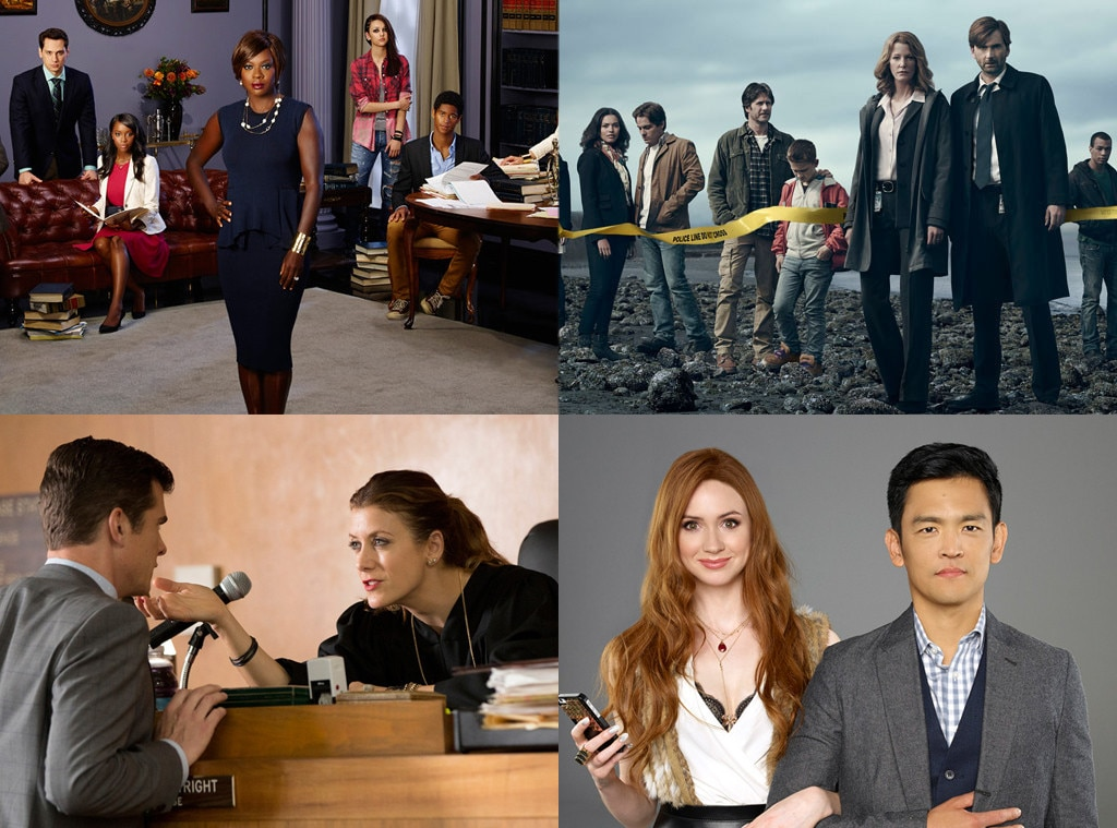 Fall TV, How to Get Away with Murder, Gracepoint, Bad Judge, Selfie