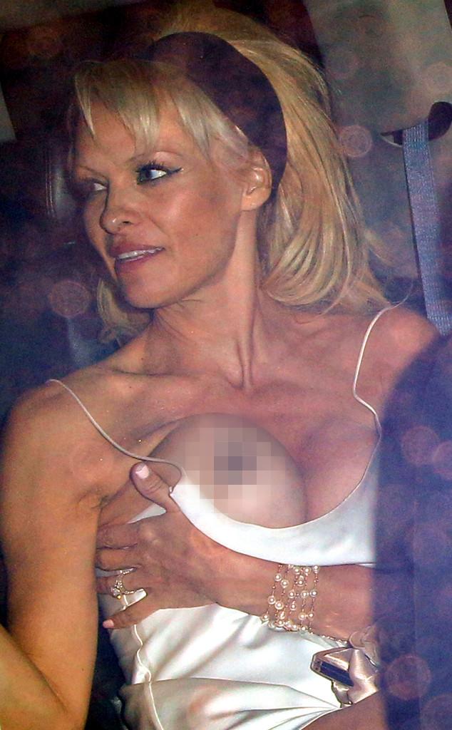 Pamela Anderson, Wardrobe Malfunction