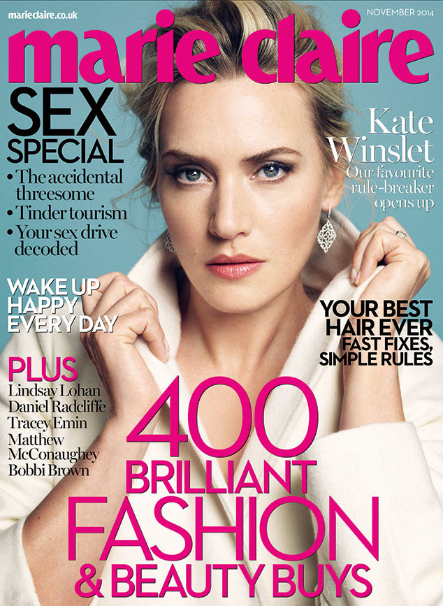 Kate Winslet, Marie Claire UK