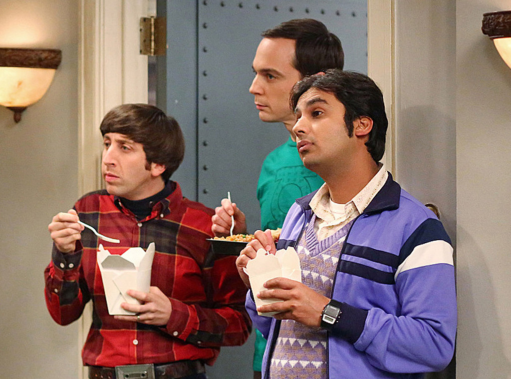 The Big Bang Theory, Jim Parsons, Simon Helberg, Kunal Nayyar