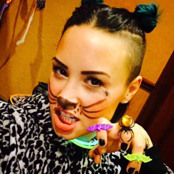 Demi Lovato Celebs Halloween Instagrams News