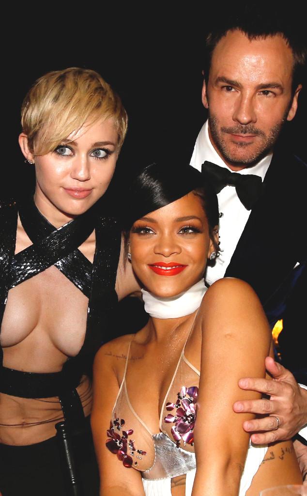 Miley Cyrus, Rihanna, Tom Ford, amfAR Inspiration Gala